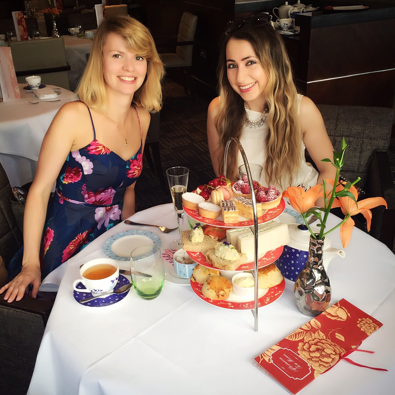 Lovely Afternoon Tea At Amba Hotel Marble Arch London