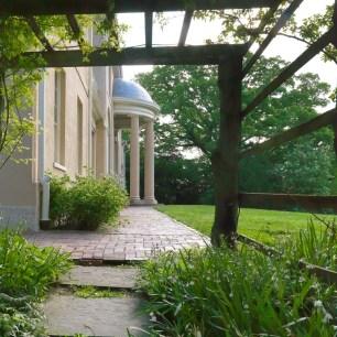 Tudor Place Kitchen Arbor, South Facade_CREDIT Bruce M White