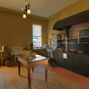 Tudor Place Kitchen with stove_CREDIT Bruce M White