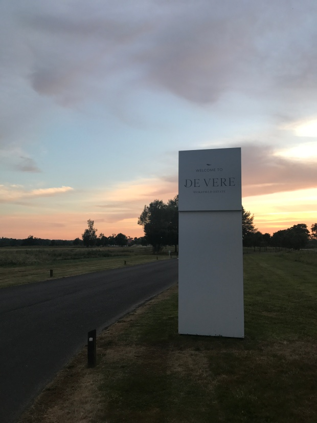 DE VERE WOKEFIELD ESTATE entrance